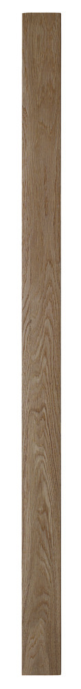 Oak Square Newel Post 90mm 1